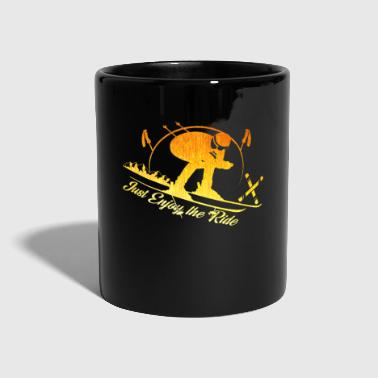Ski skier Ski holiday Winter vacation Ski resort - Full Colour Mug