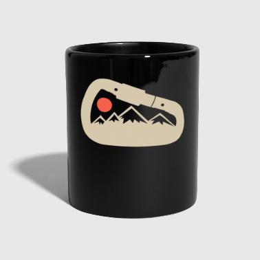 Carabiner mountaineering moon nature - Full Colour Mug
