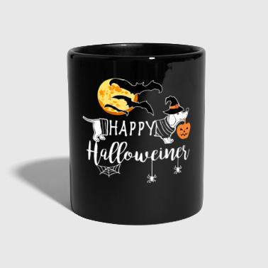 Happy Halloweiner Dachshund Halloween Doxie Owners Dark - Tazza monocolore