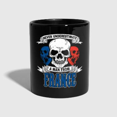France flag banner gift idea - Full Colour Mug