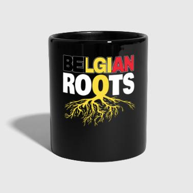 Belgium Brussels Belgian football - Full Colour Mug