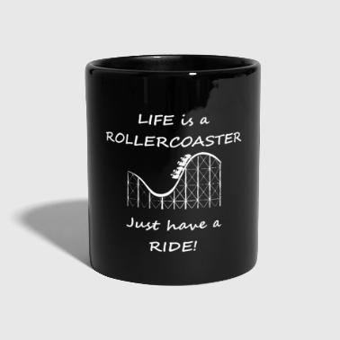 Roller Coaster roller coaster - Full Colour Mug