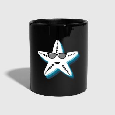 Starfish with sunglasses Coole geschenkkids - Mok uni