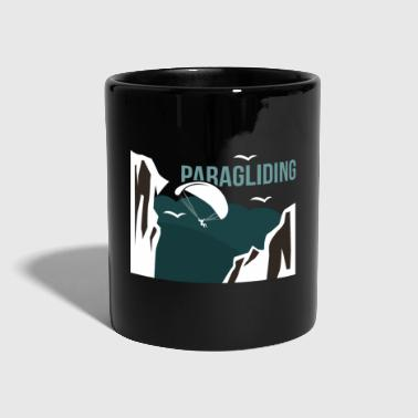 Paragliding extremely sports gift - Full Colour Mug