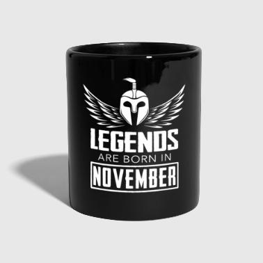 Legends were born in November - Full Colour Mug