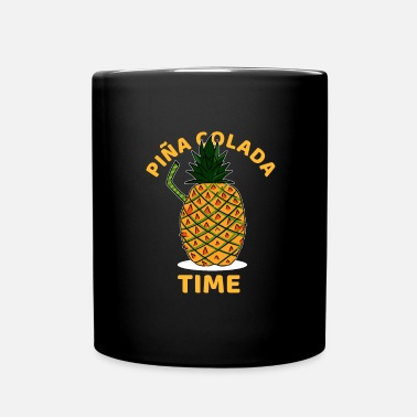 Cubes Pina Colada Time Cocktail lover Gift - Mok uni