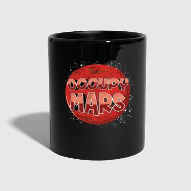 Occupy Occupy Mars Elon Musk SpaceX Occupy Mars - Full Colour Mug