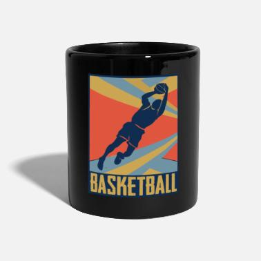 Old School Look de basket old school - Mug uni