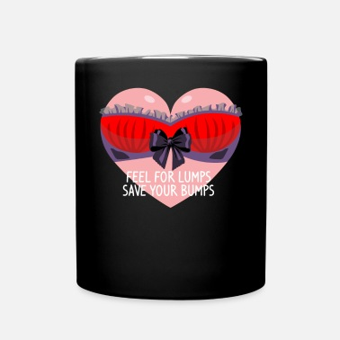 Marathon Funny Breast Cancer Awareness Art For Women Dark - Full Colour Mug