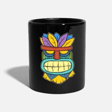 Tikki Tikki Tiki Mask Hawaiian Hawaii Gift - Mug