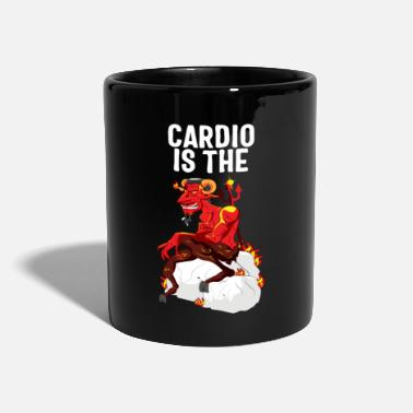 Burpees Cardio Is The Devil Gift - Mok uni