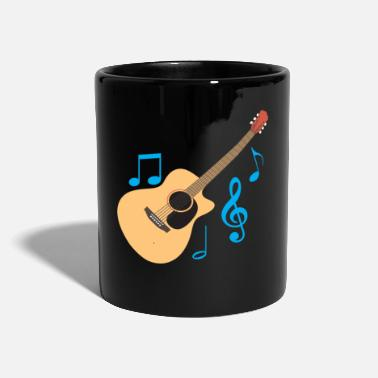 Heavy Guitar guitarist guitarist graphic gift - Full Colour Mug