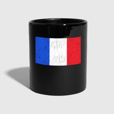Snail French flag gift kids idea - Full Colour Mug
