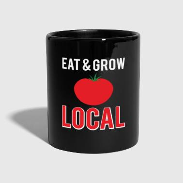 Gangster Funny Eat And Grow Local Gift - Full Colour Mug
