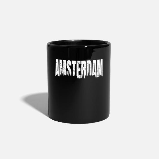 Dutch Mugs & Drinkware - Amsterdam - Mug black