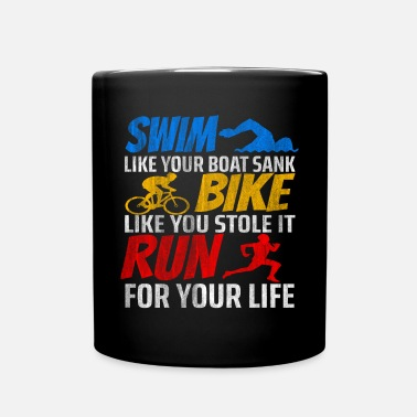 Triathlon Endurance de remise en forme de performance de triathlon - Mug uni