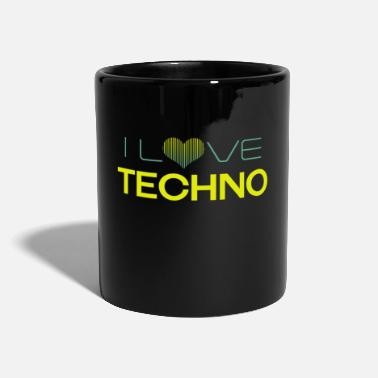 Love I Love Techno - Mug