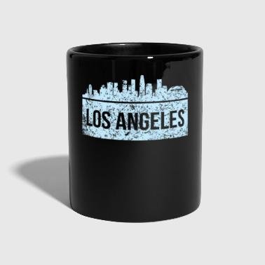 Baseball Vintage Los Angeles Skyline City View Koszulka LA - Kubek jednokolorowy