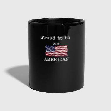 Obama American Flag USA Fatherland Pride Gifts - Tazza monocolore
