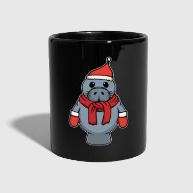 North Sea Animal child seal Christmas winter gift - Full Colour Mug
