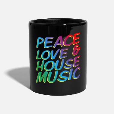 Trance Rainbow techno - Tazza monocolore