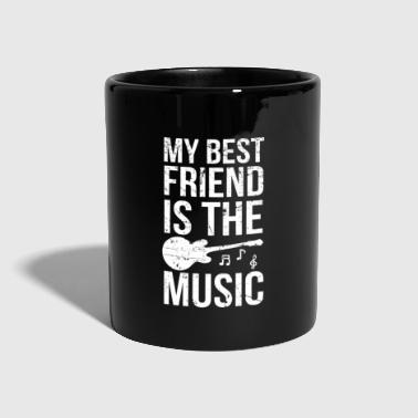 Musica Rock Best Friend Music I Guitar Guitarist Guitar Rock - Tazza monocolore