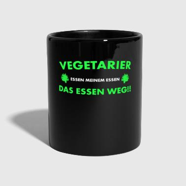 Affamato Umorismo anti-vegetariano - Tazza monocolore