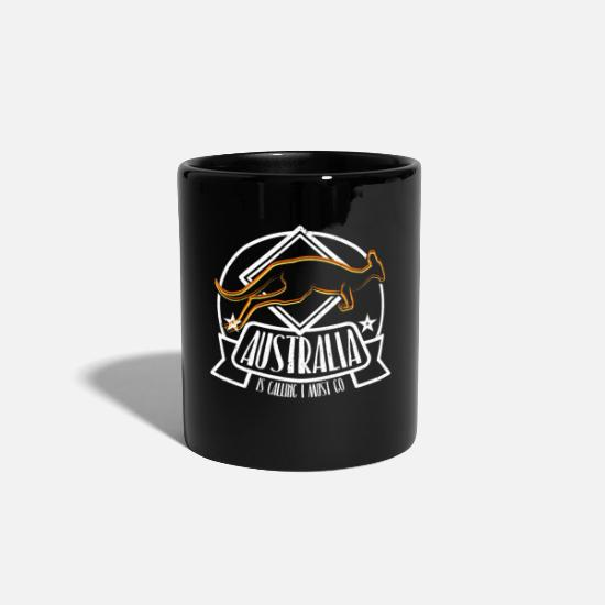 Travel Mugs & Drinkware - camping - Mug black