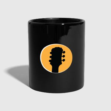 Rock And Roll Regalo de guitarra de instrumentos musicales - Taza de un color
