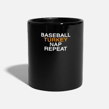Parade Funny Thanksgiving Baseball Truthahn Geschenk - Tasse