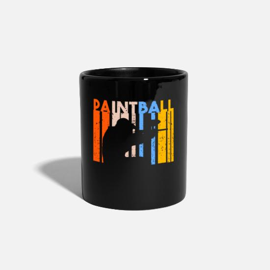 Gift Idea Mugs & Drinkware - Paintball Retro Vintage Tactics Teamsport Hobby - Mug black