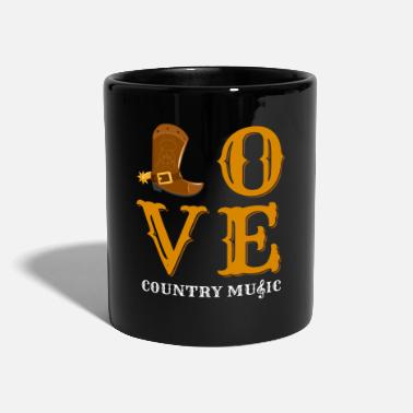 Country Country - Tasse einfarbig