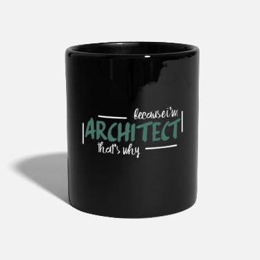 Bâtiment architecte - Mug uni
