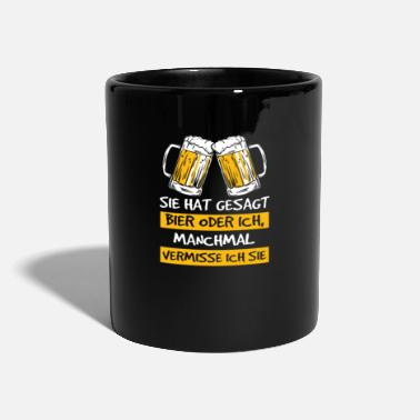 Mallorca Beer Beer Drinking Saying Funny Gift Funny - Full Colour Mug