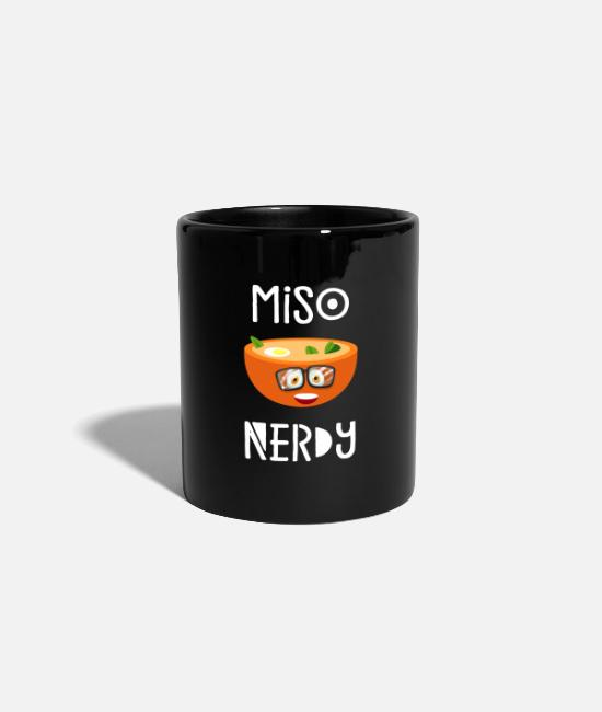 Sushi Chef Mugs & Drinkware - MISO NERDY - Mug black