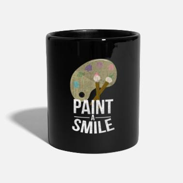 Painting To paint - Full Colour Mug