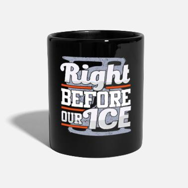 Water Sports Ice skating in winter - Full Colour Mug