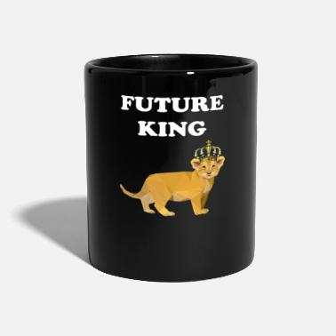 Hipster Future King Baby Lion - Full Colour Mug