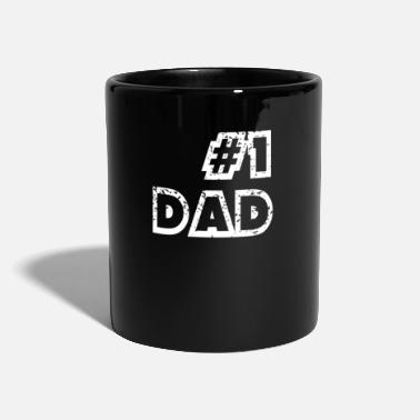 Siblings Father's Day Number 1 Dad - Full Colour Mug
