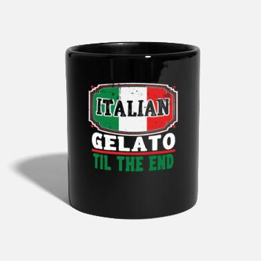 Europe Funny Italian Gelatto TIl The End - Full Colour Mug