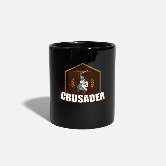 Crusader Mugs & Drinkware - CRUSADER - Mug black