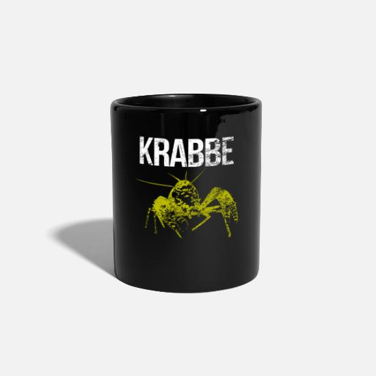 Seafood Mugs & Drinkware - Crab crustacean - Mug black