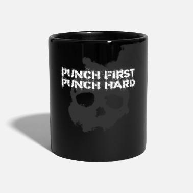 Terminado Punch First Punch Hard Combative Combighter Gift - Taza