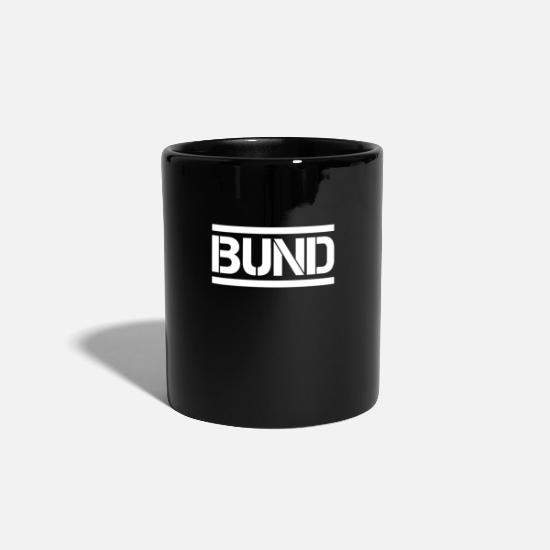 Federal Mugs & Drinkware - FEDERATION - Mug black