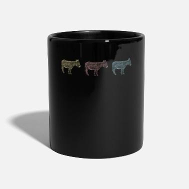 Mules Retro donkey donkeys mule mule holder - Mug
