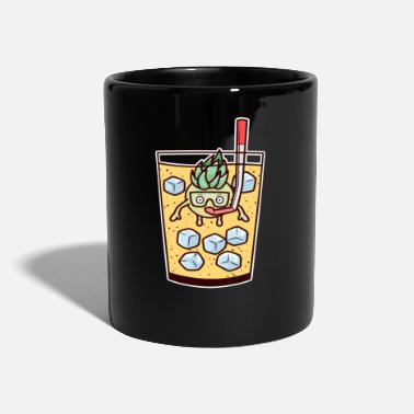 Drink Cocktail Pina Colada Pineapple Diving Glass Diving - Mug