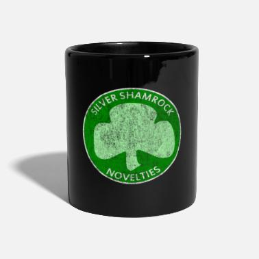 Novelty Vintage Silver Shamrock Novelties - Mug