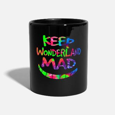 Alice Keep Wonderland Mad Hatter & Cheshire Cat Grin - Mug