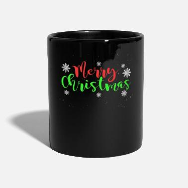 Elf Merry Christmas - Snowflakes - Mug