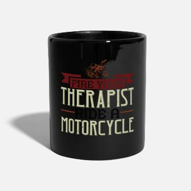 Rocker Motorcycle Biker Bike Gift - Mug